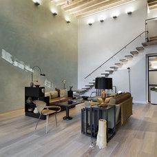 Industrial Living Room by Valerie J Boom design