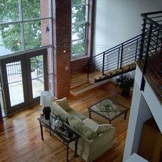 Modern Living Room by Pimsler-Hoss Architects, Inc.