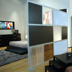 modern living room Loftwall