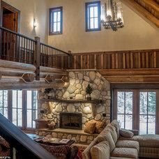 Traditional Living Room by Nicholas Modroo Designs, LLC