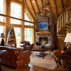 Traditional Living Room by Home Design Elements LLC