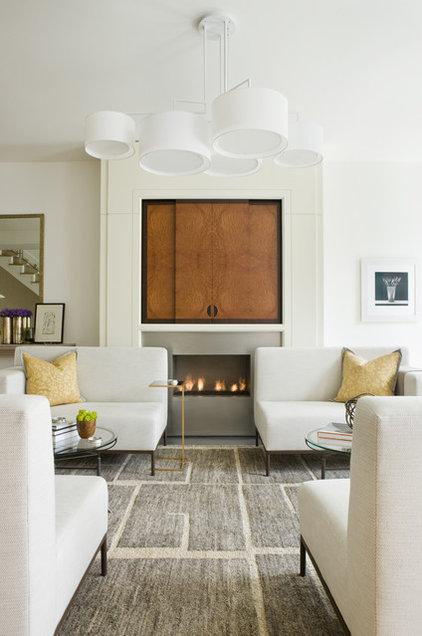 Modern Living Room by JD Ireland Interior Architecture + Design