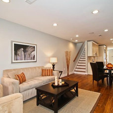 Traditional Living Room by Persimmon Tree Designs and Staging, LLC
