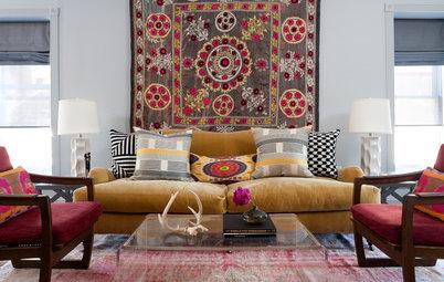 Mjuka upp hemma: 8 textilier och mattor som hänger bäst på väggarna