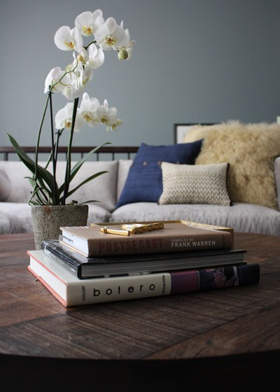 Contemporary Living Room by Kaminski + Pew