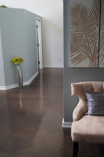 Modern Living Room by Colorado Concrete Repair -Denver,CO-