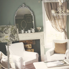 traditional living room by Kasey Buick