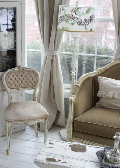 Shabby-chic Style Living Room by Kasey Buick