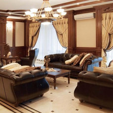 Traditional Living Room by Lompier Interior Group