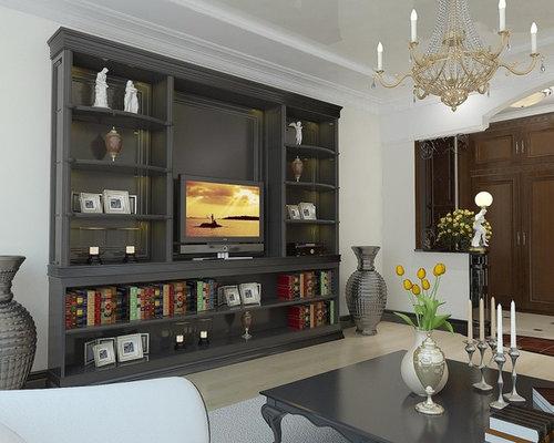 Modular Wall Unit Furniture Living Room Design Ideas, Remodels