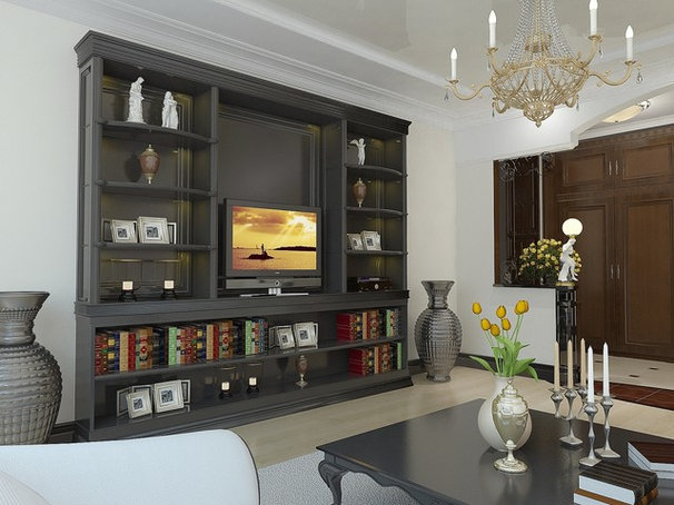 Contemporary Living Room by Lompier Interior Group