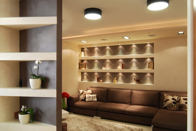 Modern Living Room by Lompier Interior Group