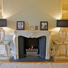Traditional Living Room by Olivia Cazenove Interiors