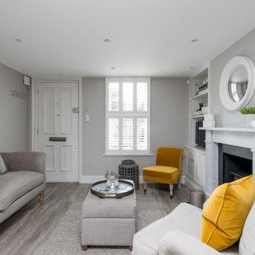 London cottage (Tania Azadian Interiors)