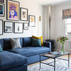 Houzz Tour: Colour and Texture Liven Up a Bland Apartment