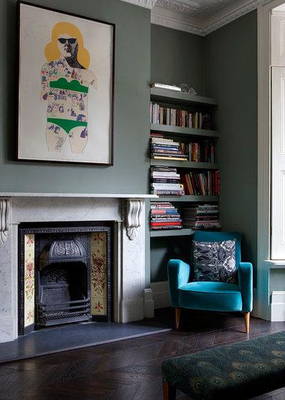 Viktorianisch Wohnbereich by Brian O'Tuama Architects