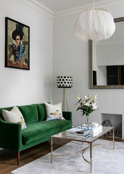 Modern Wohnbereich by Shanade McAllister-Fisher Design