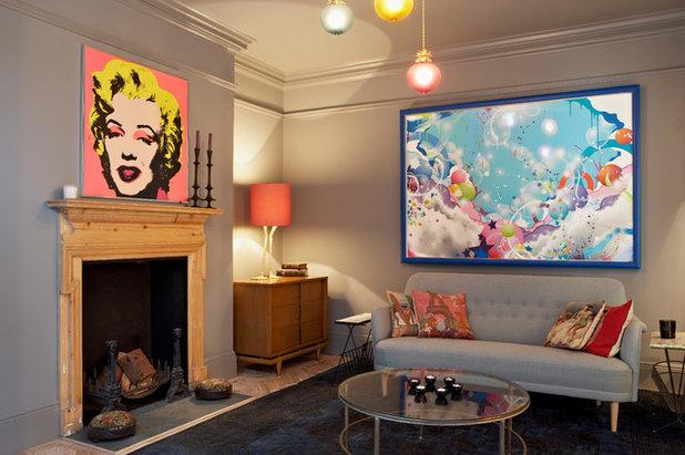 Éclectique Salon by Godrich Interiors