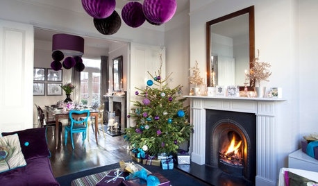 Houzz Tour: A Christmas-Clad Home in the Heart of London