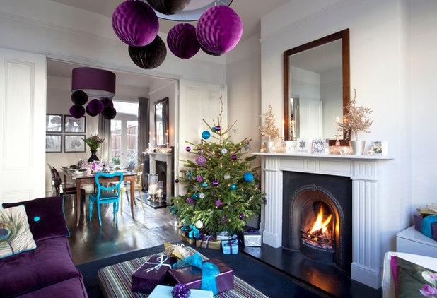 Houzz Tour This Victorian Family Home Really Shines At Christmas