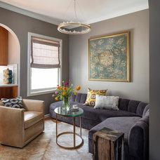 Transitional Living Room by John K. Anderson Design
