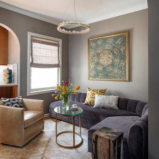 Inspiring Purple And Grey Living Room Ideas Set
