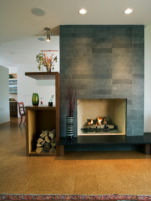 confetto ffertig contemporary living room. Living Room - Contemporary Cork Floor Idea In Chicago Confetto Ffertig