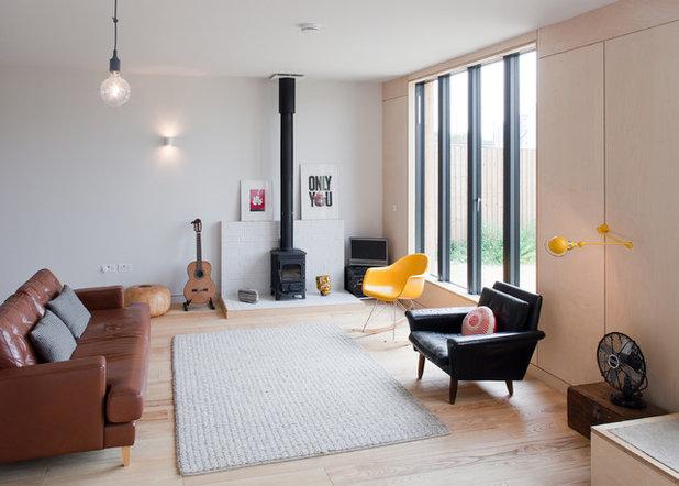 decoracin minimalista consigue un saln austero con slo lo esencial - Decoracion Minimalista