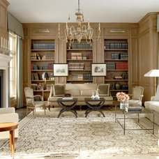 Traditional Family Room by Thompson Custom Homes