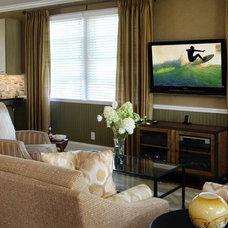 Contemporary Living Room by Associated Design Studio, L.L.C.