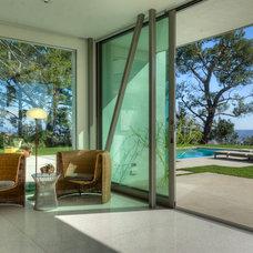 Modern Living Room by Bertram Architects