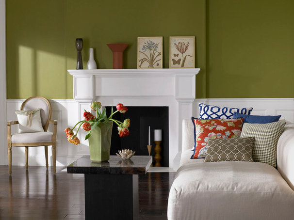Traditional Living Room by Loom Decor