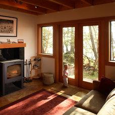 Contemporary Living Room by Brandt Design Inc