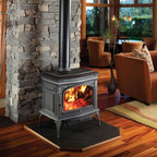 Lopi by Travis Industries - Lopi Cape Cod Hybrid-Fyre Wood Stove - CLEANEST BURNING STOVE IN THE WORLD