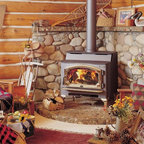 Lopi by Travis Industries - Lopi Liberty Wood Stove - Heating Capacity: 1,500 - 2,500 sq ft