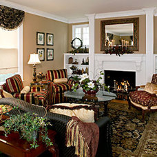 Traditional Living Room by Loren  Reid Seaman