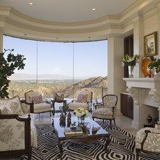 Traditional Living Room by Lori Dennis, ASID, LEED AP