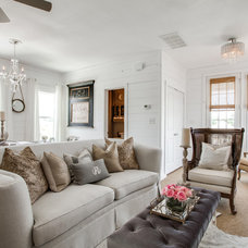 Eclectic Living Room by Lori Rourk Interiors Inc.