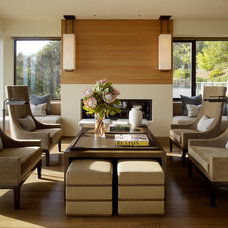Contemporary Living Room by Aleck Wilson Architects