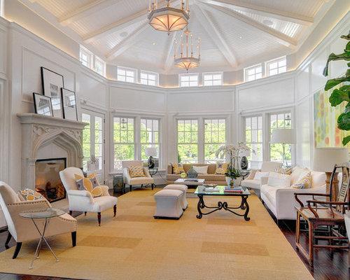 Oversized Living Room Houzz