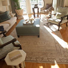 Traditional Living Room by The Rug Affair & Antique Rug Co.