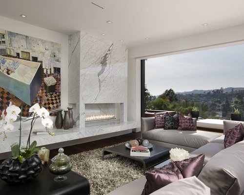 Marble Slab Fireplace Home Design Ideas Pictures Remodel And Decor