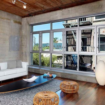 Los Angeles Home Staging | Adaptive Reuse of an Industrial Historic Modern Loft