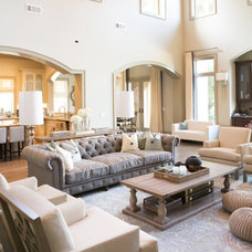 Transitional Living Room by A.S.D. Interiors - Shirry Dolgin, Owner