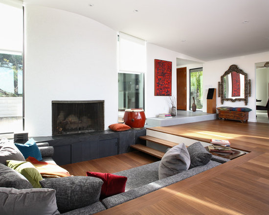 modern minimalist living room | houzz