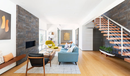 An Inviting Contemporary Home With a Focus on Art