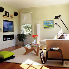 Modern Living Room by Suzette Sherman Design