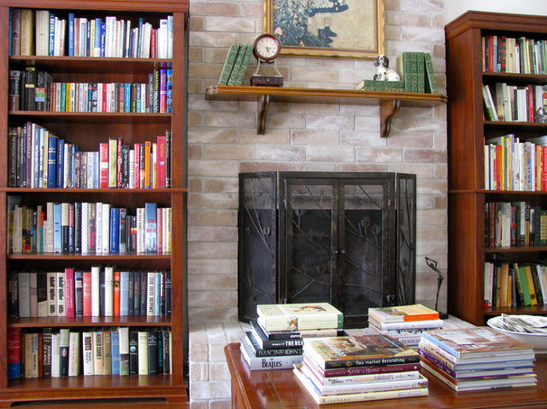 Eclectic Living Room Lots (and lots) of Books
