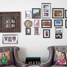 Asian Living Room Lotus themed living room