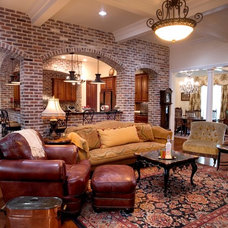 Traditional Living Room by Godsey Homes